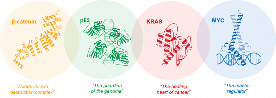 Frequently-mutated-oncogenic-drivers
