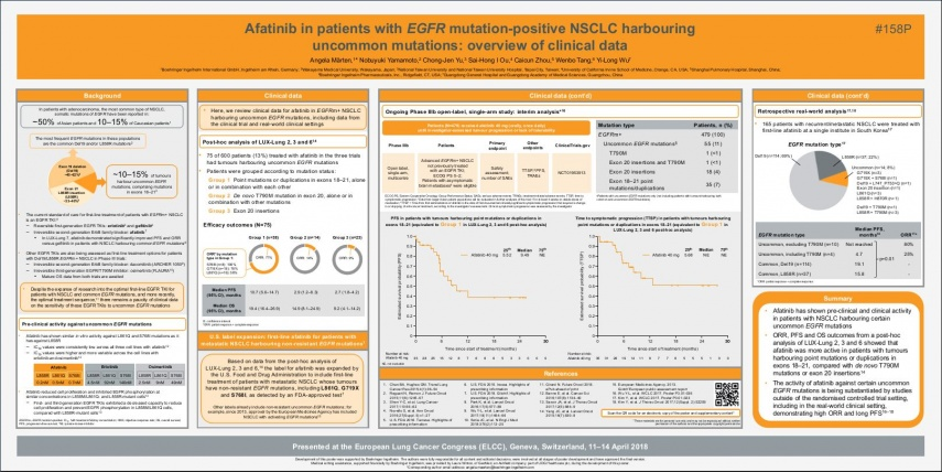 ELCC 2018 Afatinib uncommon mutations_poster
