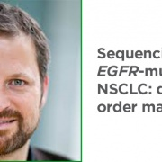 Treatment sequencing in EGFR-mutated NSCLC