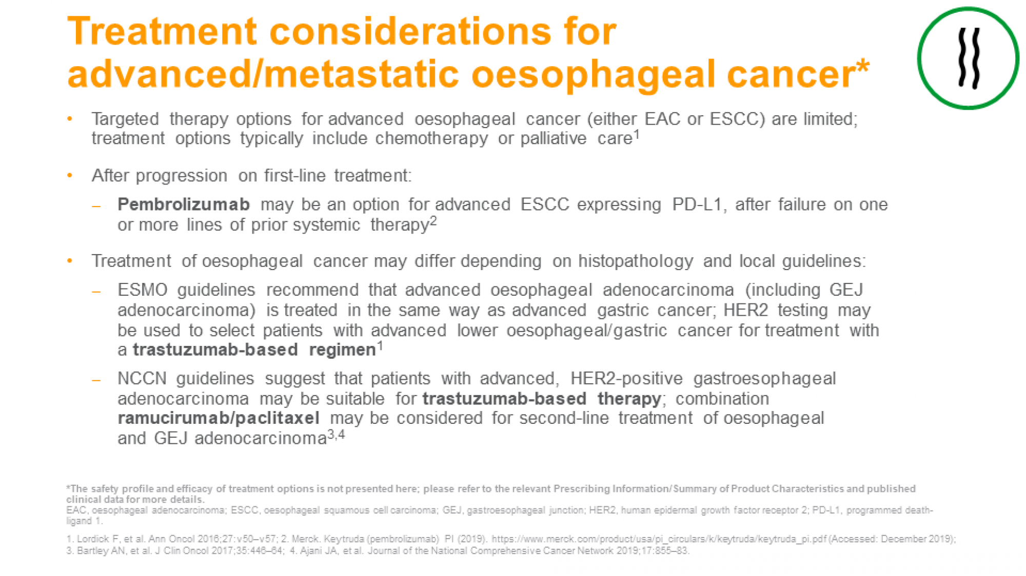 GI cancers: treatment approaches