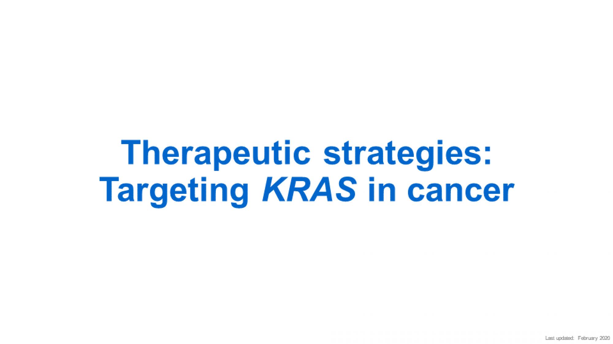 Slide 1 Therapeutic Strategies