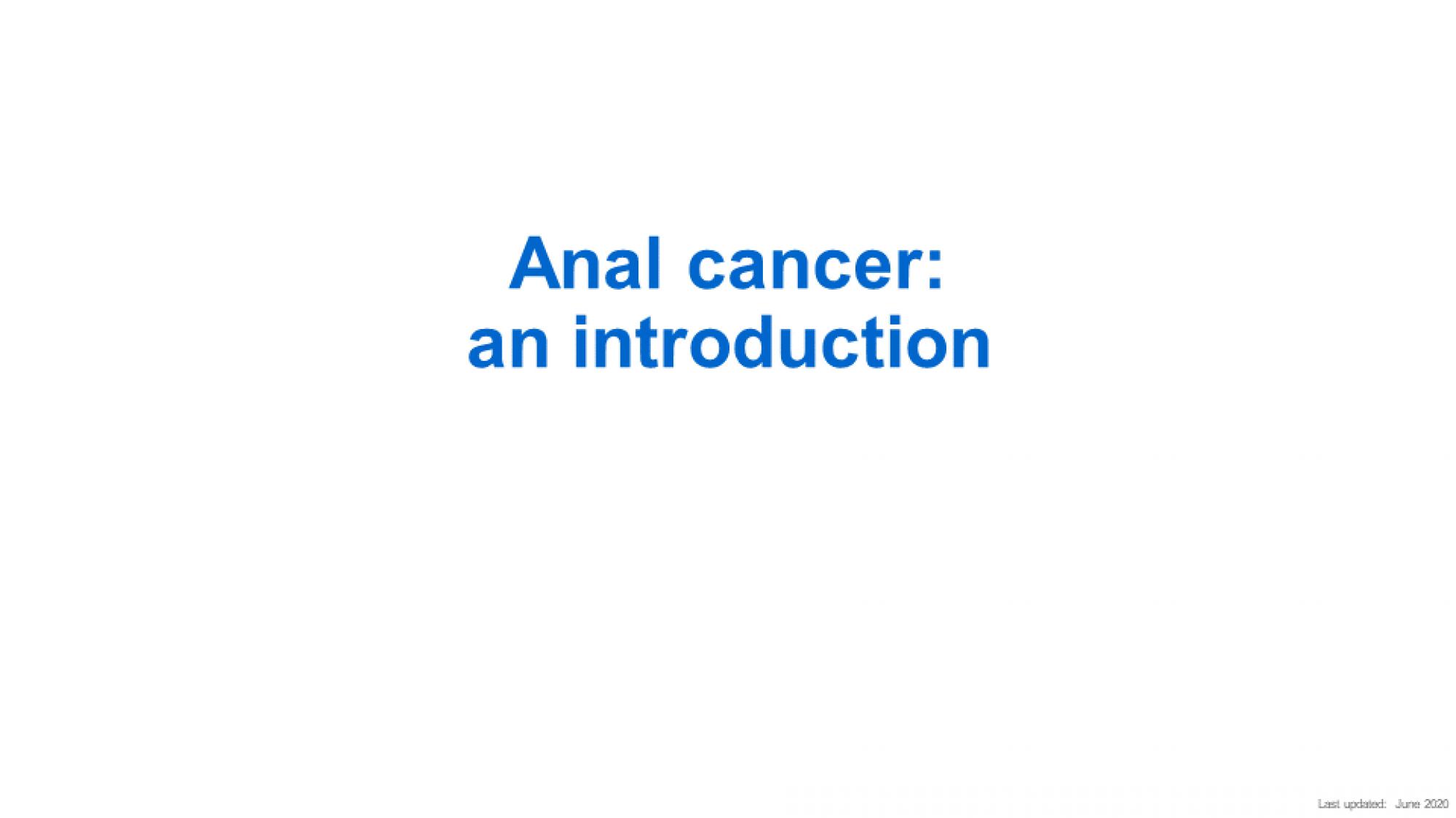 Anal cancer slide-1